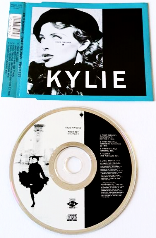 Kylie Minogue ‎- Finer Feelings (CD Single) (EX/EX)